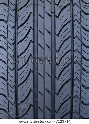 Luxury performance auto mobile tire tread