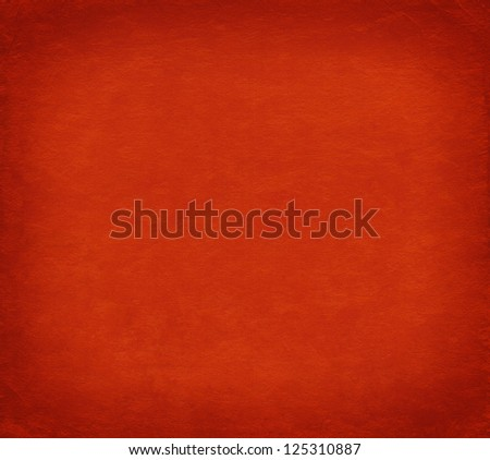 Luxury red background, japanese hand made paper texture and dark vignette