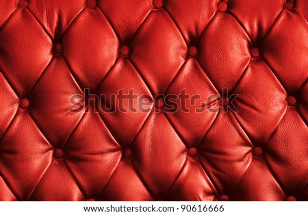 luxury red leather texture