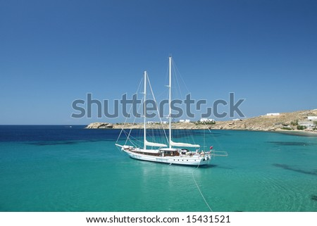 Luxury Sailing Vessel