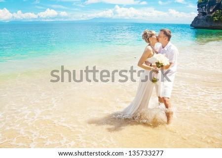 luxury sea-view wedding
