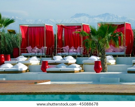 luxury spa and outdoor pool