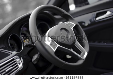 Luxury steering wheel