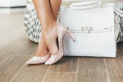 Luxury Stylish bag with Chic High-heeled shoe