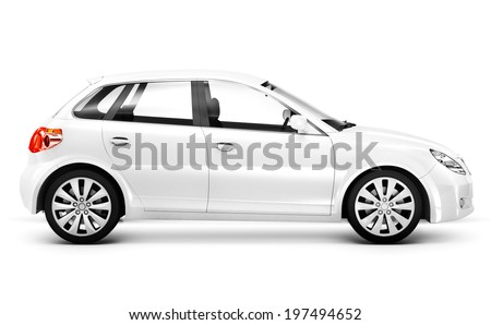 Luxury SUV 3D Car