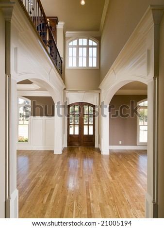 Luxury Symmetrical Arch Entrance Vertical view