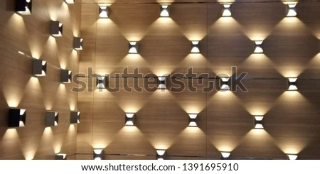 Luxury wall light to decorate your job
