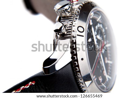 luxury watch - stock photo