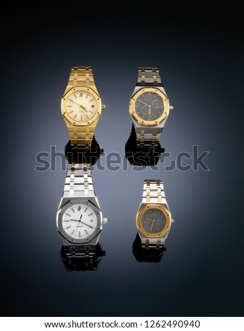 Luxury watches, Madrid. (gold & silver)