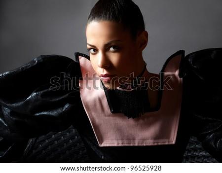 Luxury Woman portrait. Fashion - stock photo