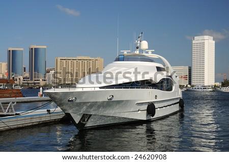 Luxury Yacht at Dubai Creek