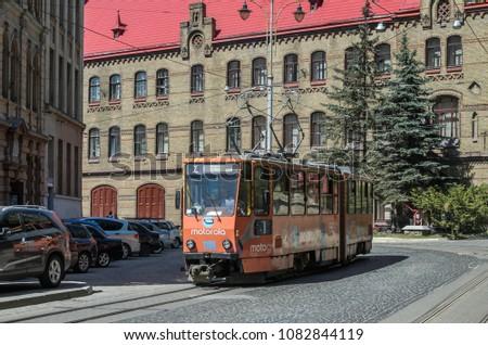 lviv  ukraine   may 2018  the...