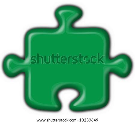 lybia button flag puzzle shape