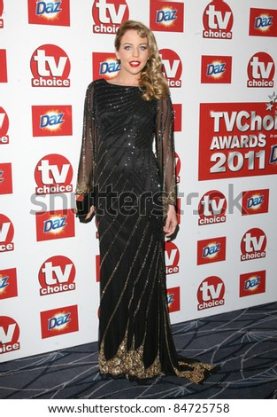 Lydia Bright arriving for the 2011 TV Choice Awards, at The Savoy, London. 09/13/2011 Picture by: Alexandra Glen / Featureflash