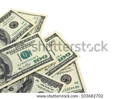 lying heap of dollars