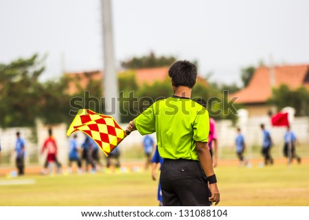 Lyman,Umpire, Assistant football referee.