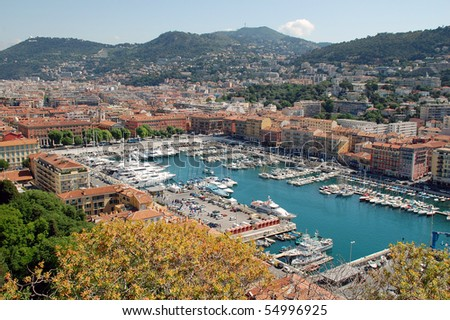 Lympia port of Nice, French riviera