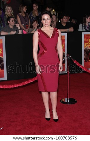 "Lynn Collins at the ""John Carter"" Los Angeles Premiere, Regal Cinemas, Los Angeles, CA 02-22-12"
