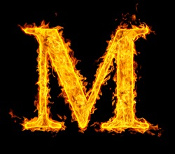 m ,fire letter