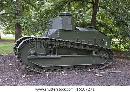 M1917 Light Tank WWI - stock photo