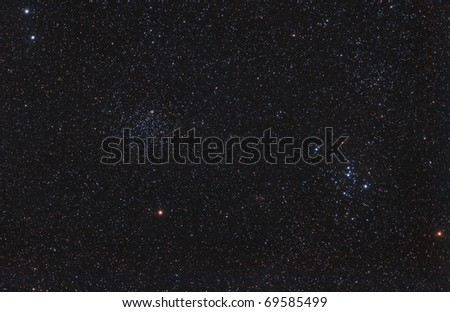 M46, M47 Star Clusters and the Calabash Planetary Nebula