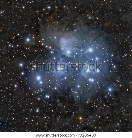 M45, Pleiades or The Seven Sisters