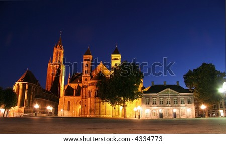 Maastricht and his famous church