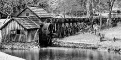 Mabry Mill, Blue Ridge Mountains, Blue Ridge Parkway, National Park, Virginia, USA