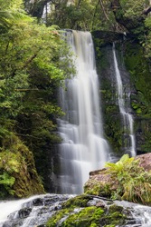 Mac Leans waterfall in New Zealand.