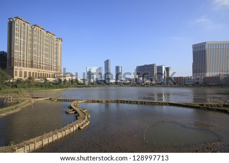 macau city buildings