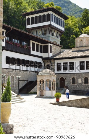 Macedonia, old beauty Monastery. Sv. Jovan Bigorski