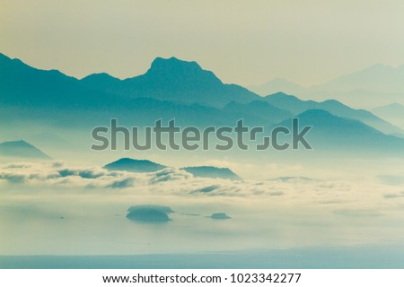macela stone top mountain view #1023342277