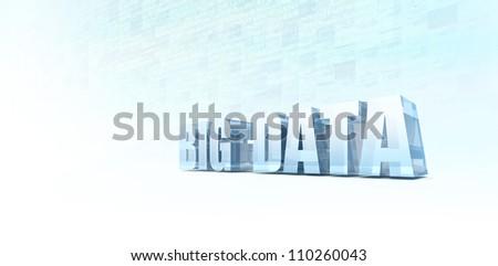 Machine Generated Data - stock photo