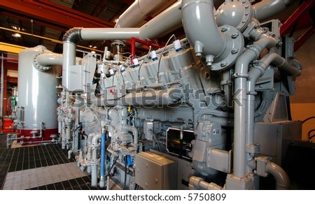 Machinery - stock photo