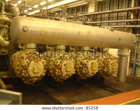 Machinery industry chemical refinery nuts bolts valves metal cylinder pipes tubes big powerful