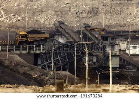 Machinery mining