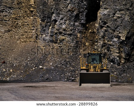 machinery ready for mining