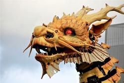 machines nantes horse dragon show