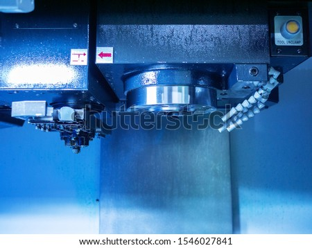machining center, lathe and milling