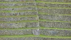 Machu Picchu, Ancient Inca City Ruin, Inca Wall
