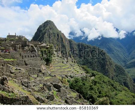 Machu Picchu, near Cuzco, Peru