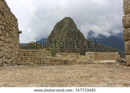 Machu Picchu Ruins Peru #767733685