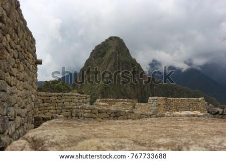 Machu Picchu Ruins Peru #767733688
