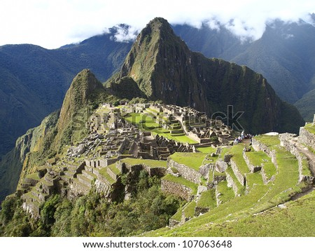 Machu Picchu, the lost city of the Andes, Peru