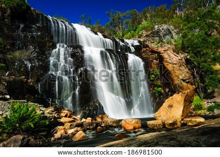 mackenzie falls grampians national park australia Stock photo ©