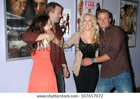 - stock-photo-mackenzie-firgens-and-bradley-snedeker-with-mercedes-mcnab-and-frank-krueger-at-the-los-angeles-107657072