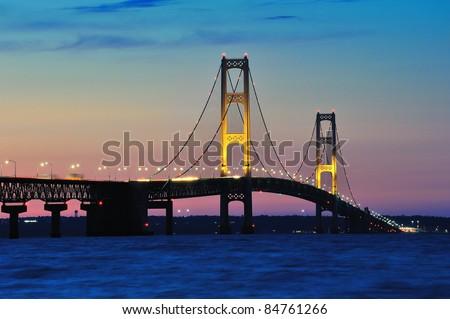 Mackinac Bridge - Mackinaw City, Michigan