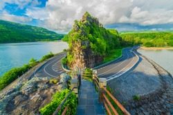 Maconde view point, Baie du Cap, Mauritius island, Africa