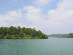MacRitchie Reservoir which is Singapore's oldest reservoir completed in 1868