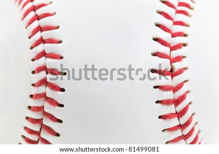 macro a photo of a light baseball ball